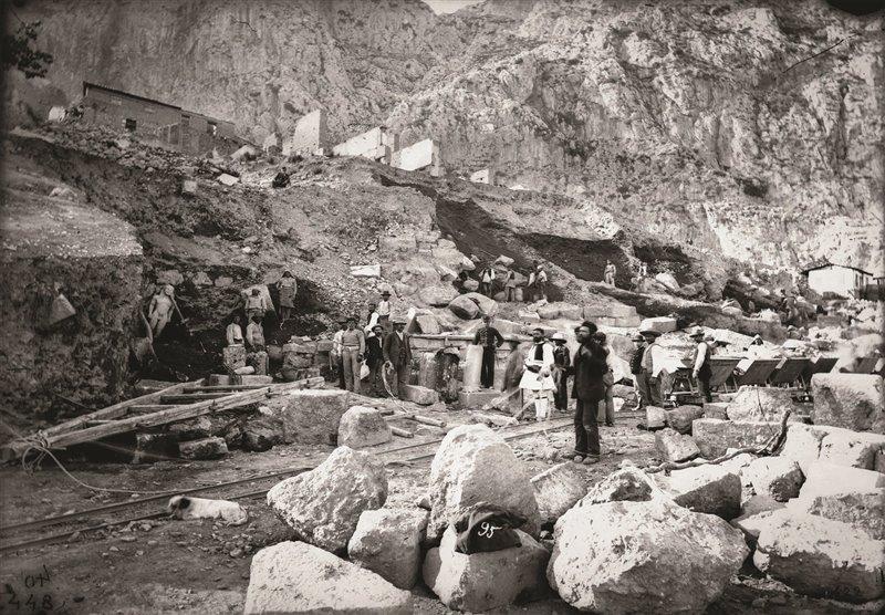 Questa foto fu scattata il 30 maggio del 1893, quando venne alla luce la statua di Cleobi