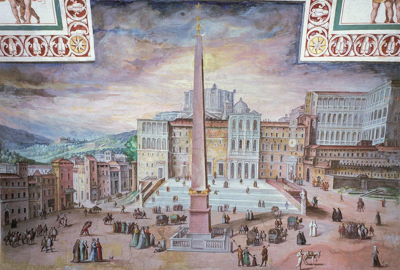 Il processo di costruzione della basilica di San Pietro