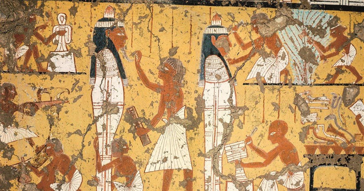 Creatori Di Capolavori I Pittori Dell Egitto