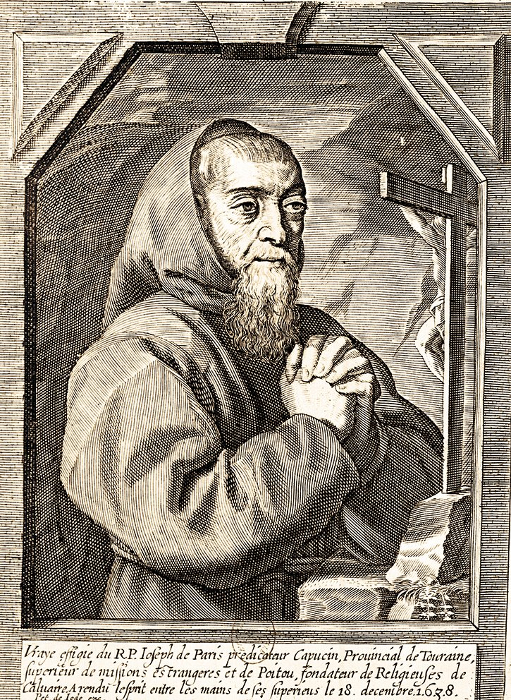 Padre José, il frate cappuccino principale confidente di Richelieu