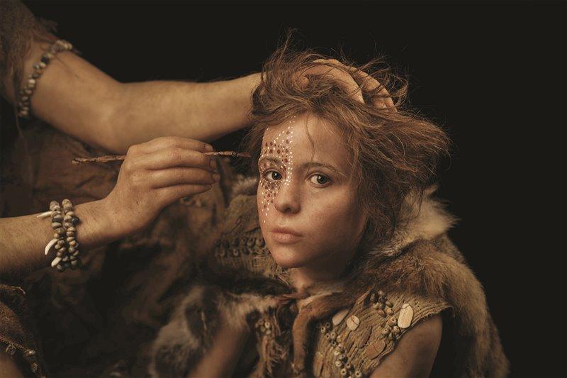 Bambina 'sapiens' in una ricostruzione facciale compiuta dagli specialisti del laboratorio Daynès di Parigi