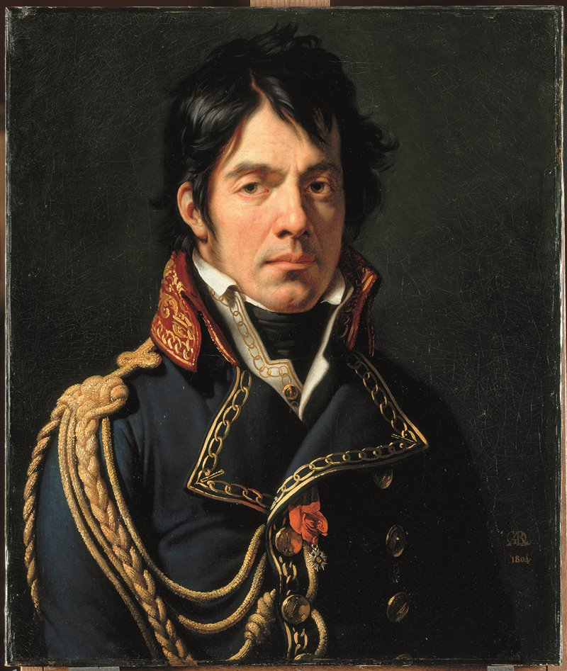 Dominique Larrey nel 1804. Olio di Anne-Louise Girodet. Musée du Louvre, Parigi