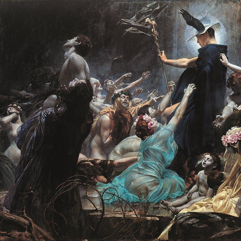 L'inferno dei greci, il viaggio delle anime nell'aldilà