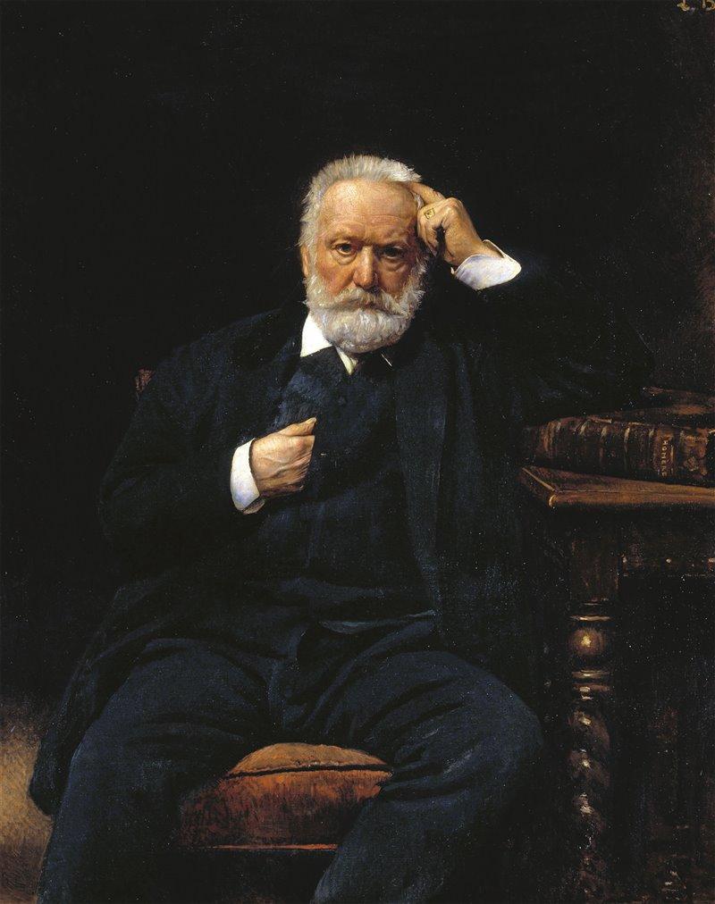 Ritratto di Victor Hugo realizzato da Leon Joseph Florentin Bonnat (1879). Casa di Victor Hugo, Parigi