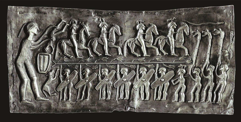 Processione dei guerrieri verso l'aldilà