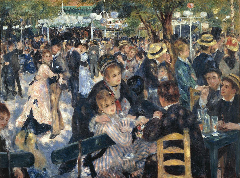 Bal au Moulin de la Galette, 1876, Parigi, Museo d'Orsay