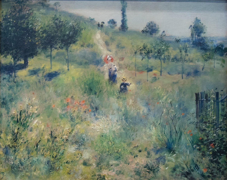 Il sentiero nell'erba alta, 1874 circa, Parigi Museo d'Orsay