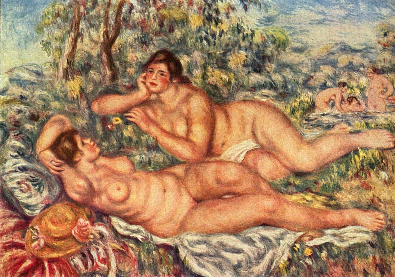 Le bagnanti, 1918-1919, Parigi, Museo d'Orsay