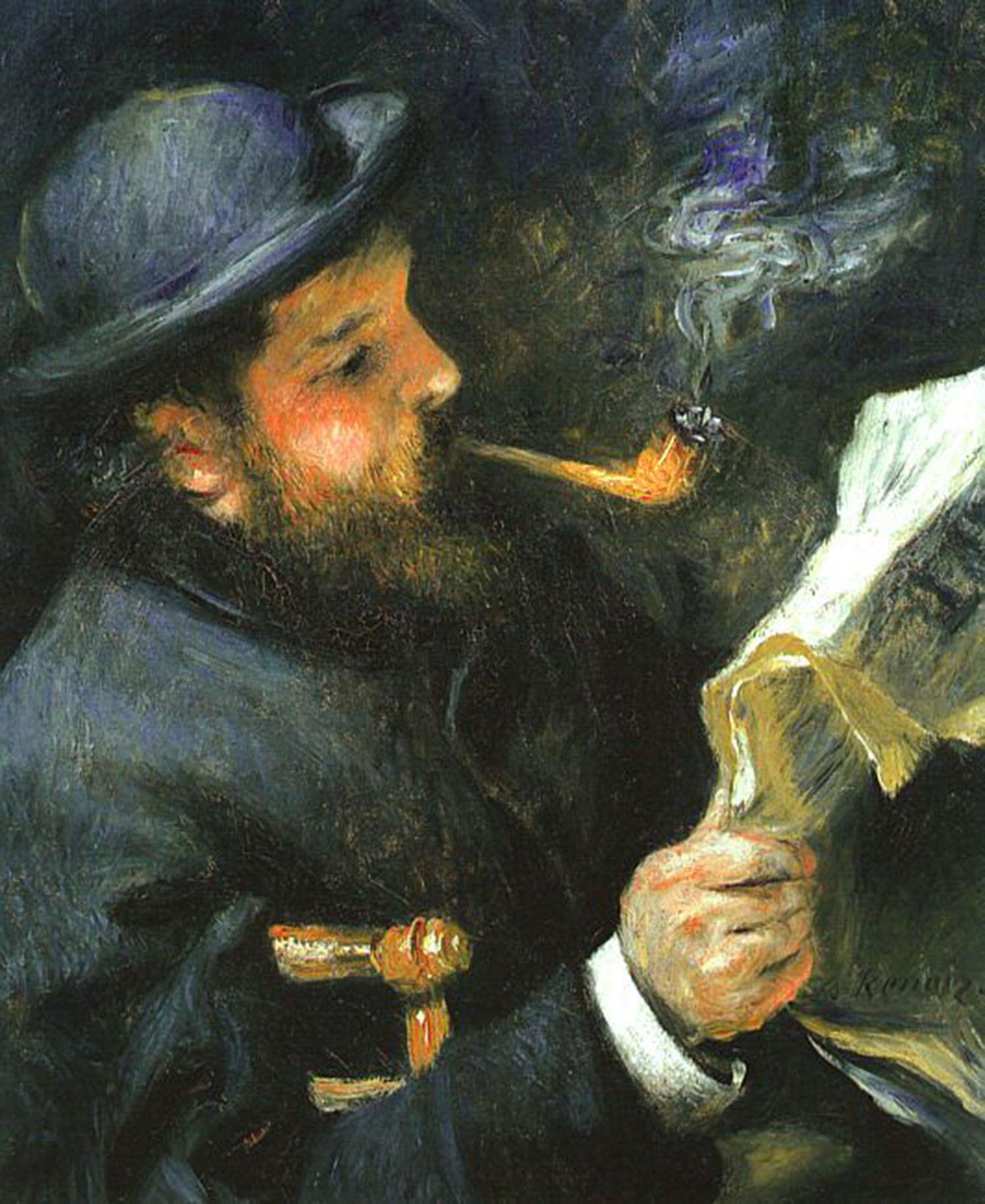 Monet che legge, 1872, Parigi, Museo Marmottan Monet