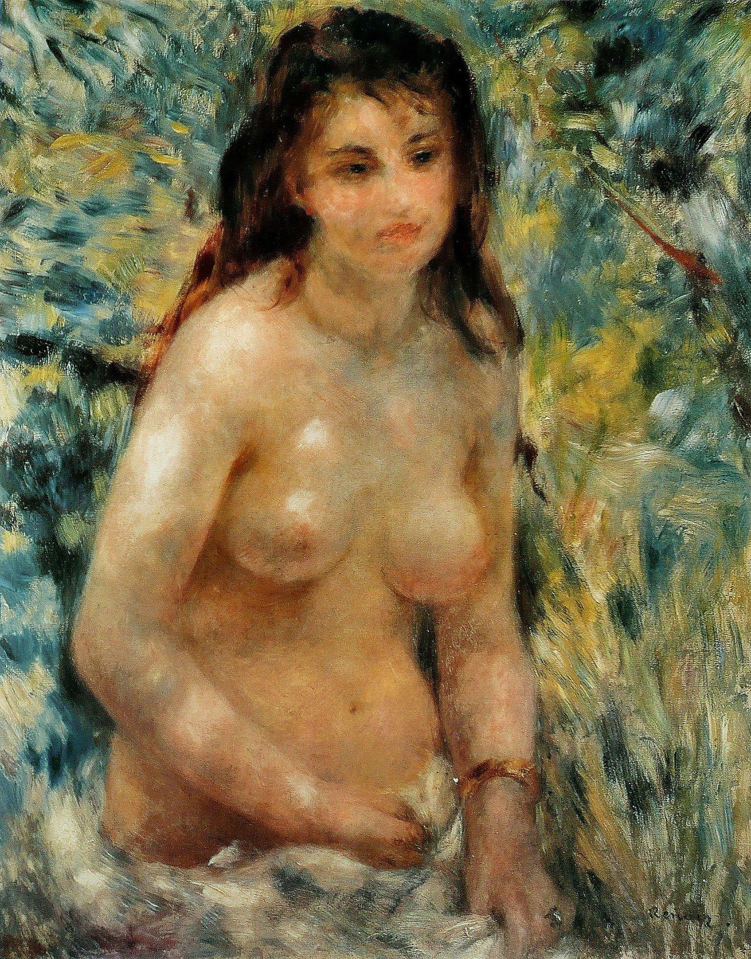 Nudo al sole,1876, Parigi, Museo d'Orsay