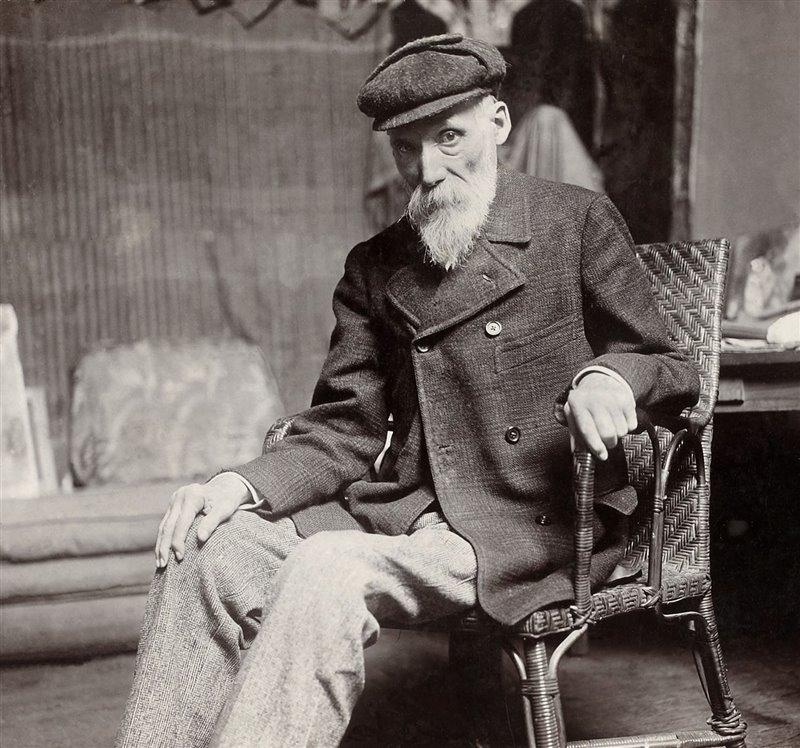 Pierre-Auguste Renoir intorno al 1910