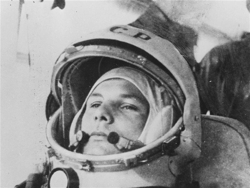 Jurij Gagarin il 15 aprile del 1961