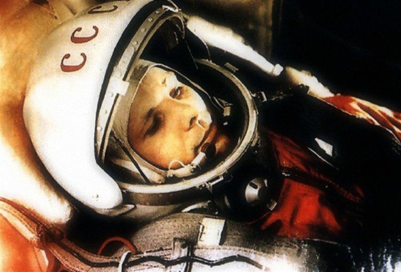 Jurij Gagarin nel 1961