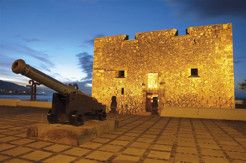 Castello di San Felipe a Puerto de La Cruz (Tenerife). Bastione difensivo edificato nel XVII secolo