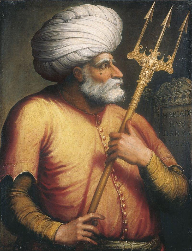 Khair ad-Din Barbarossa. Ritratto della metà del XVI secolo. Scuola italiana. Collezione privata