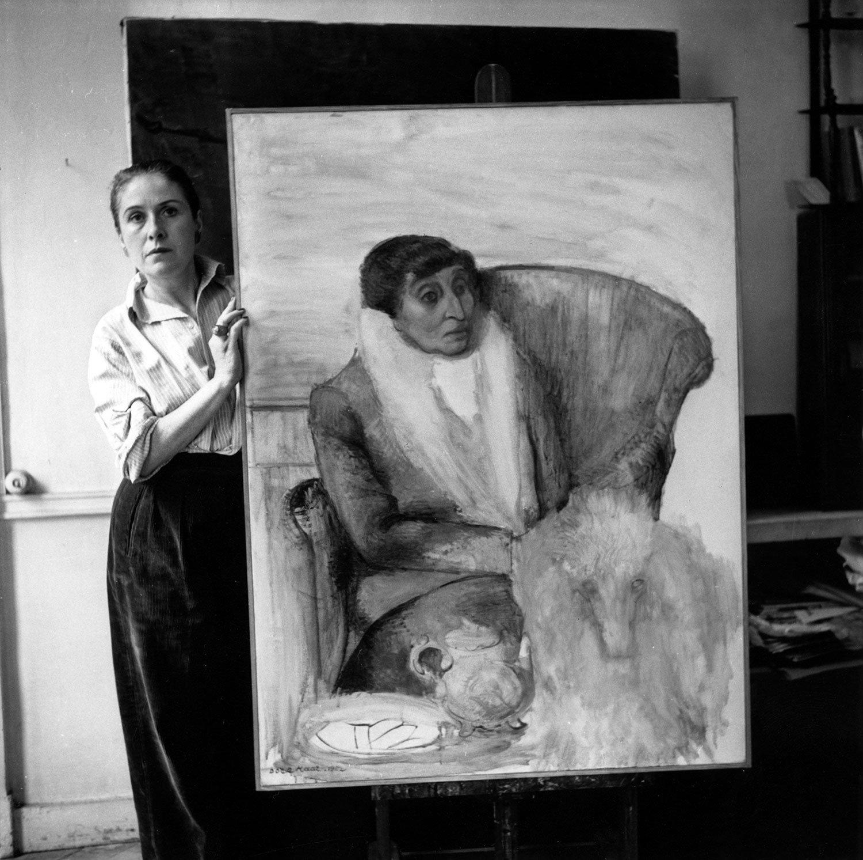 Dora Maar, 'Ritratto di Alice B. Toklas', 1946, Parigi