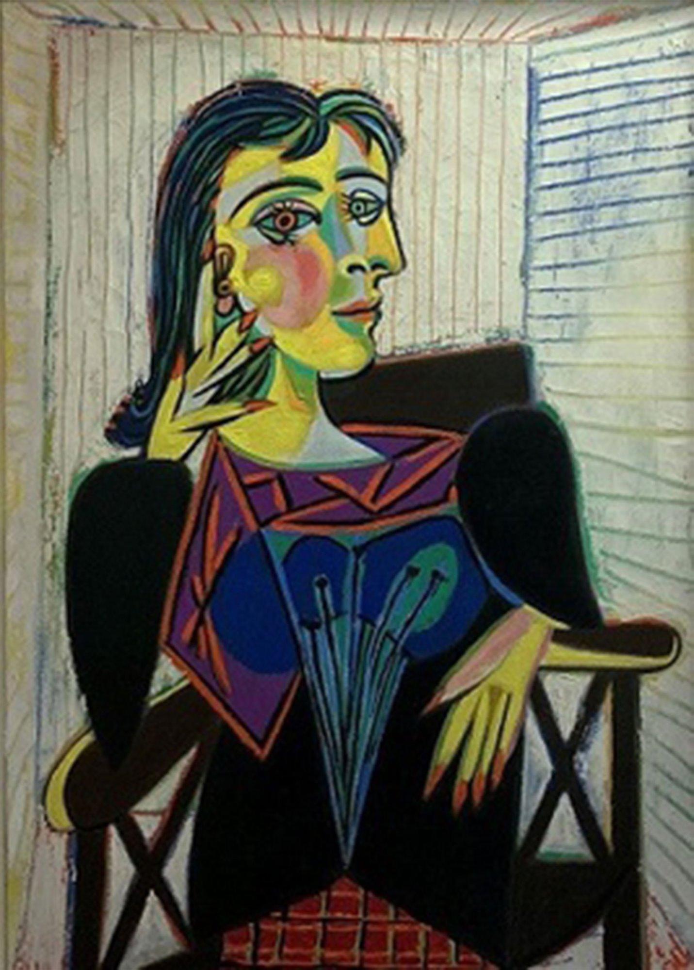 Pablo Picasso, Ritratto di Dora Maar seduta, 1937, Museo Picasso, Parigi